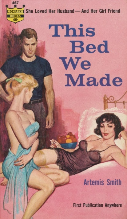 Image credit: https://upload.wikimedia.org/wikipedia/commons/9/93/Cover_of_This_Bed_We_Made_by_Artemis_Smith_-_1961.jpg